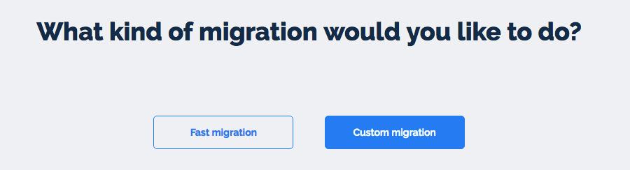 fast-migration
