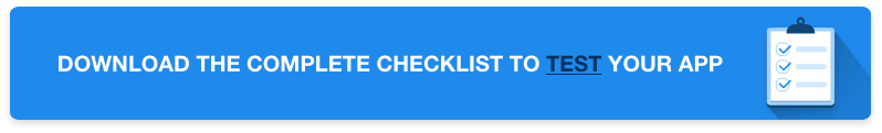 checklist-how-to-test-app