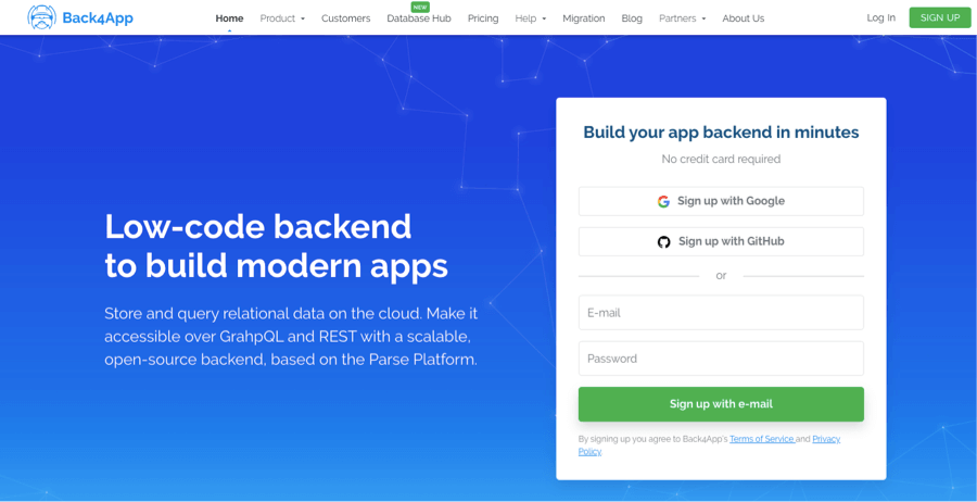 Back4app - Firebase Open Source Alternative