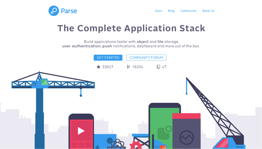 Parse - Firebase Open Source Alternative