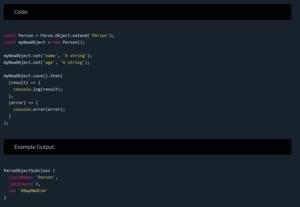 Parse API Reference