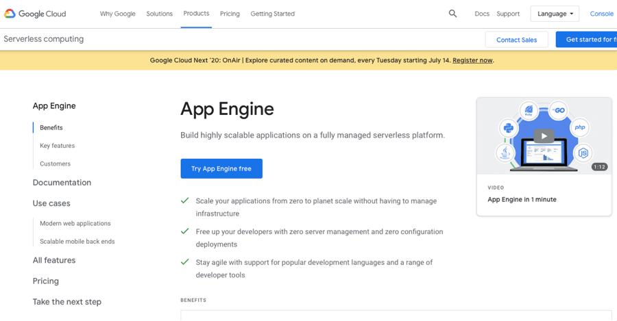 Google-App-Engine-Heroku-Alternative