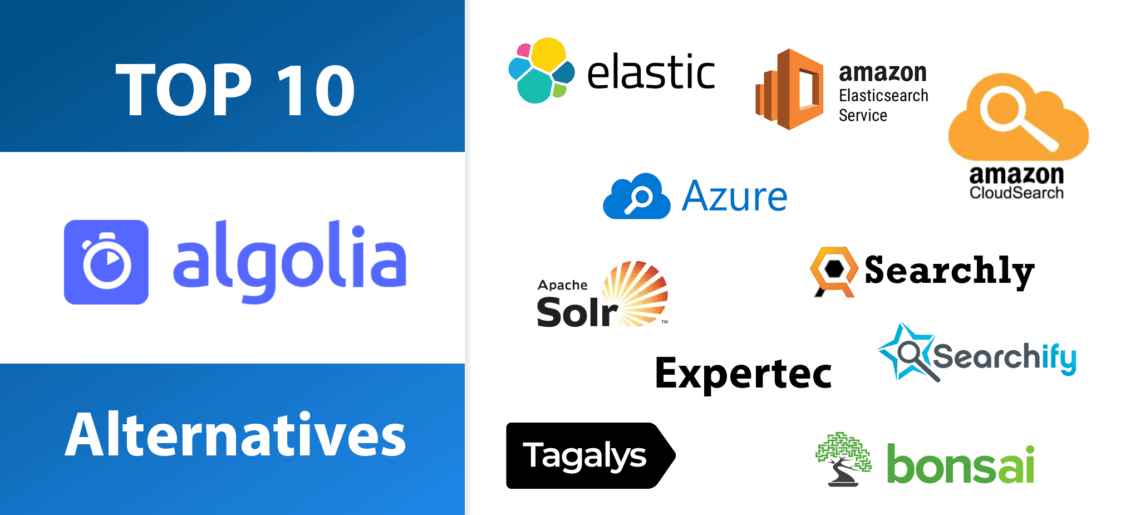 Top 10 Algolia Search Alternatives