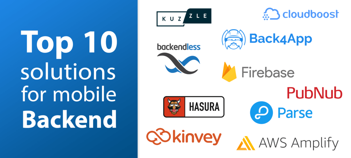 Top 10 Solutions for Mobile Backend