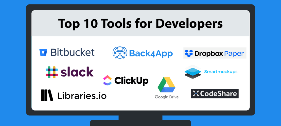 Top 10 Tools for Developers in 2020