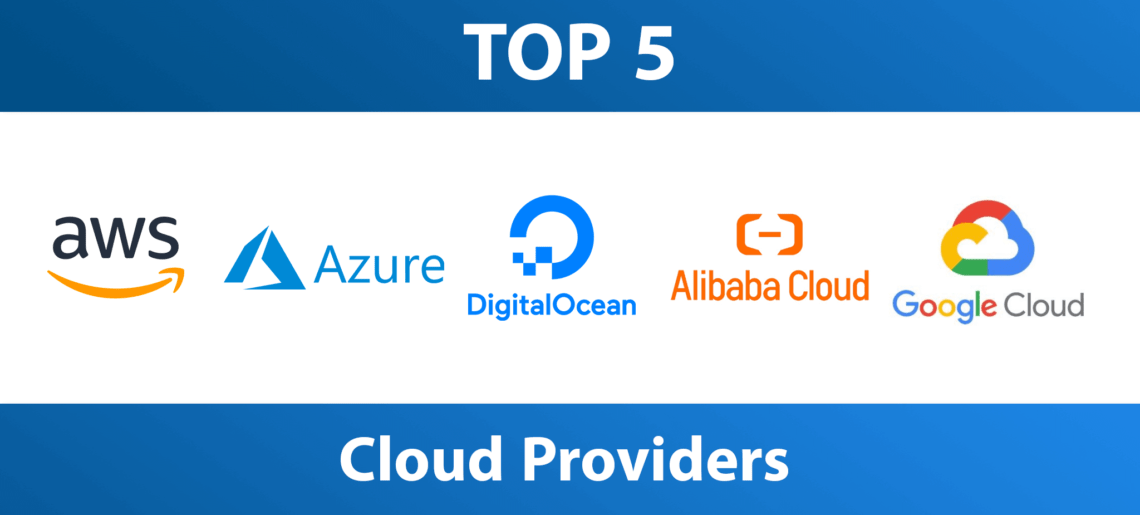 Top 5 Cloud Service Providers