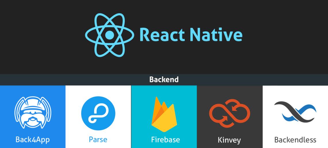 As melhores plataformas de backend para o seu aplicativo React Native